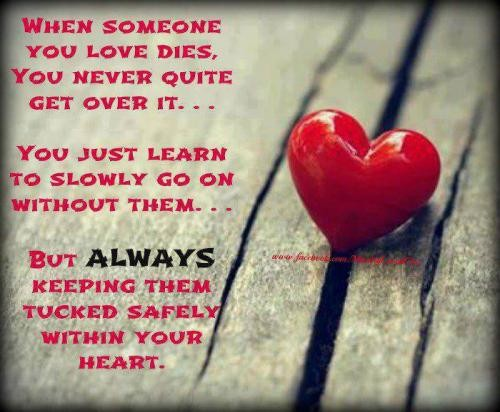 Losing Someone You Love Quote 4 Picture Quote #1