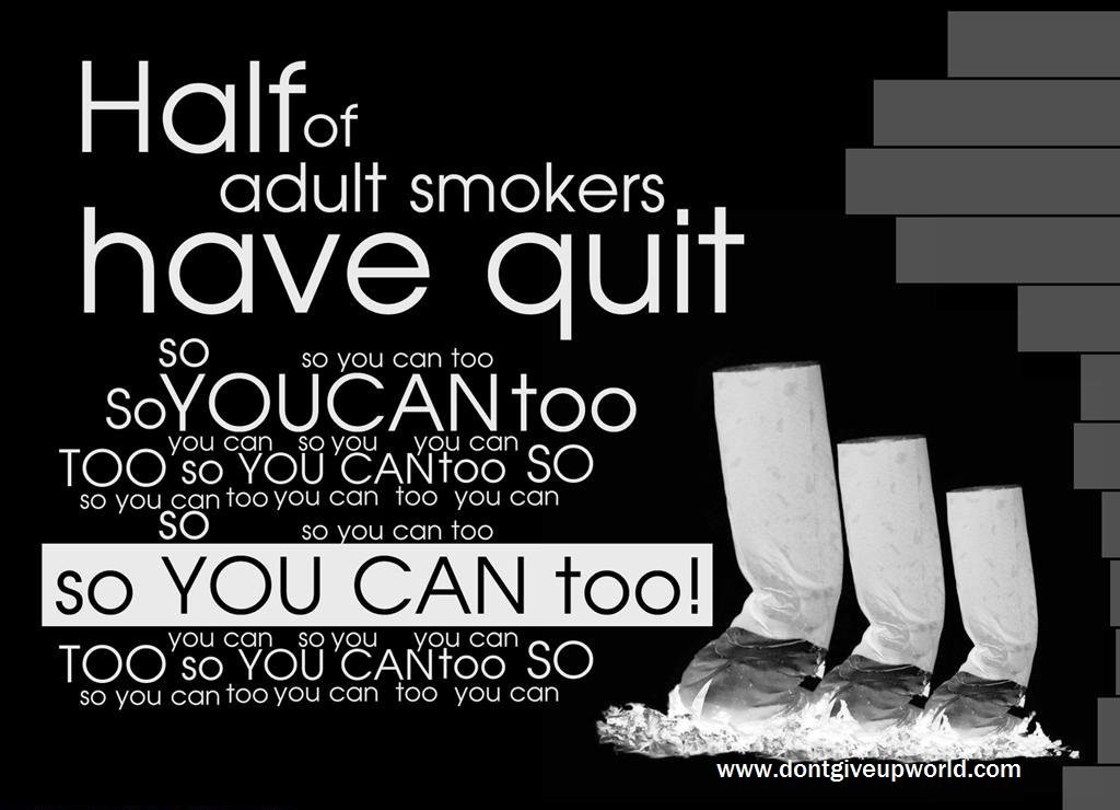 Quit Smoking Quote 18 Picture Quote #1