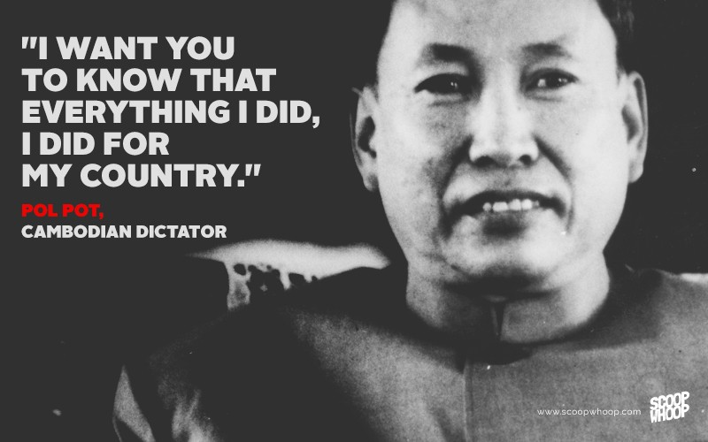 Famous Dictator Quote 2 Picture Quote #1