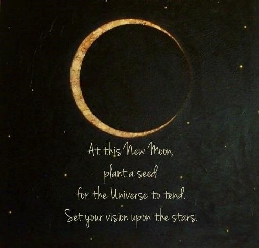 New Moon Quote 1 Picture Quote #1