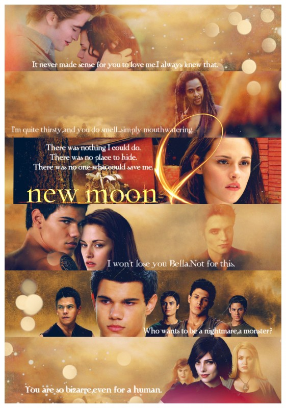 New Moon Quote 2 Picture Quote #1