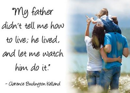 Good Father Quote 4 Picture Quote #1