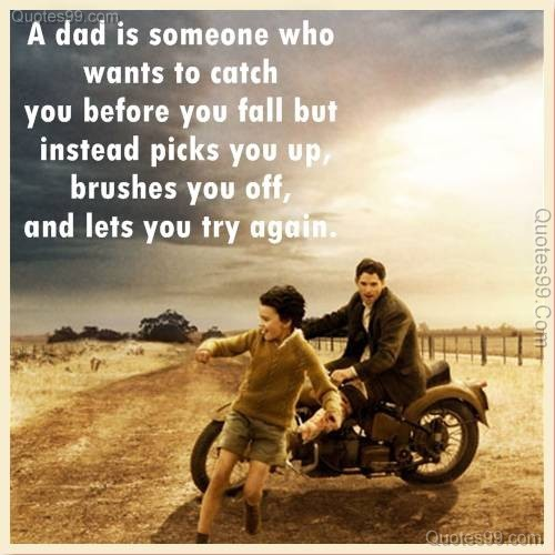 Quote About A Good Father 1 Picture Quote #1