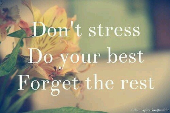 Dont Stress Quote 6 Picture Quote #1