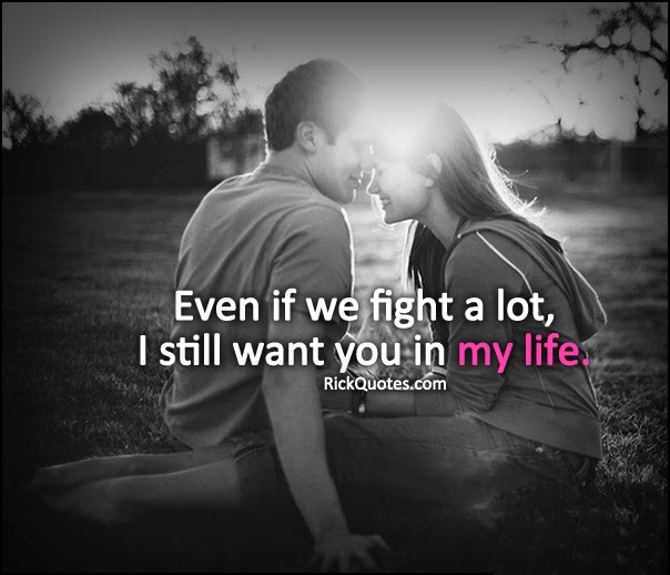 Even Though We Fight I Still Love You Quote | Quote Number ...