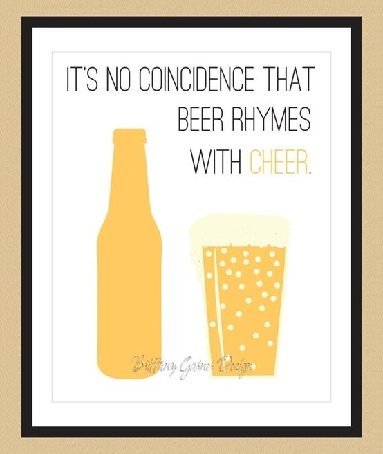 Beer Cheers Quote 4 Picture Quote #1