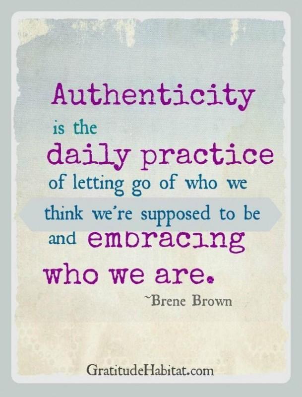 Authenticity Quote 1 Picture Quote #1