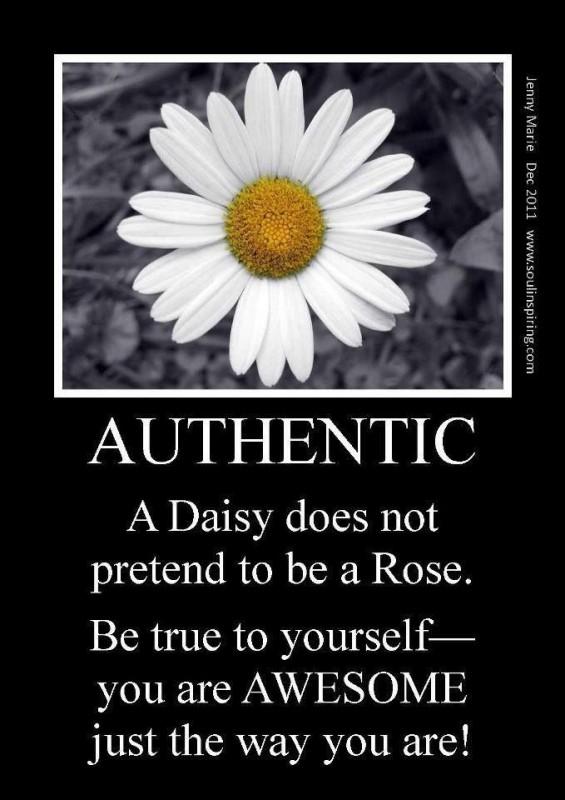 Authenticity Quote 3 Picture Quote #1