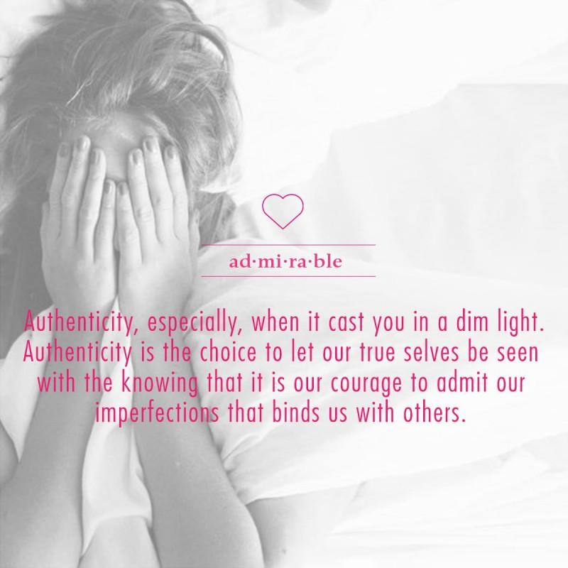 Authenticity Quote 7 Picture Quote #1