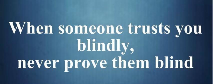 Blind Quote 1 Picture Quote #1
