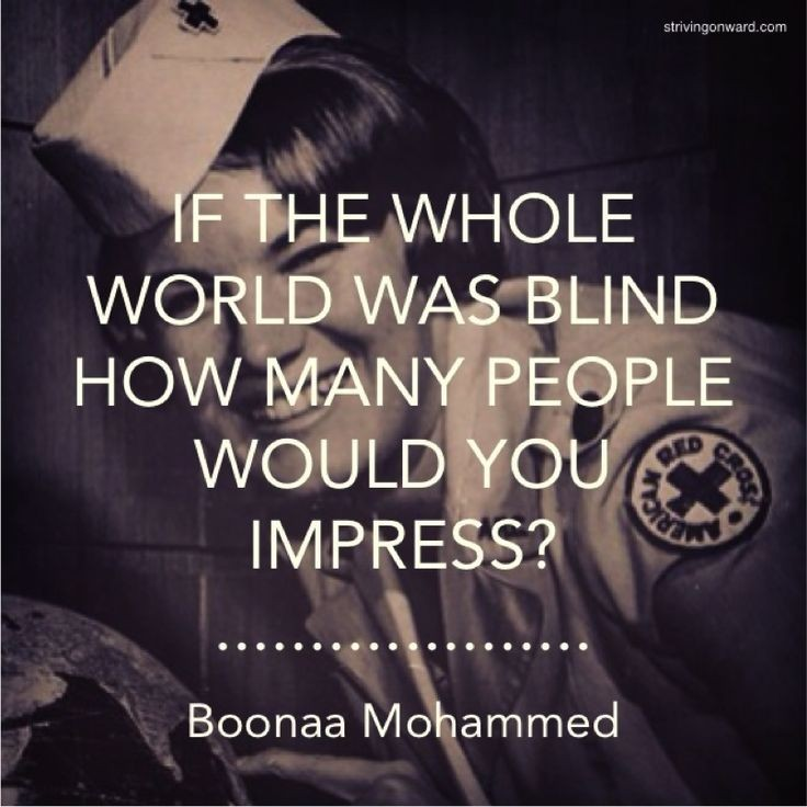 Blind Quotes: Blind Picture Quotes