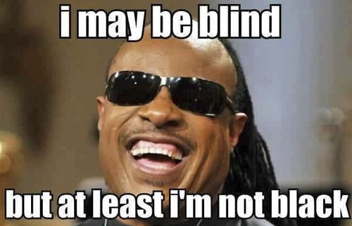 Funny Blind Quote 1 Picture Quote #1