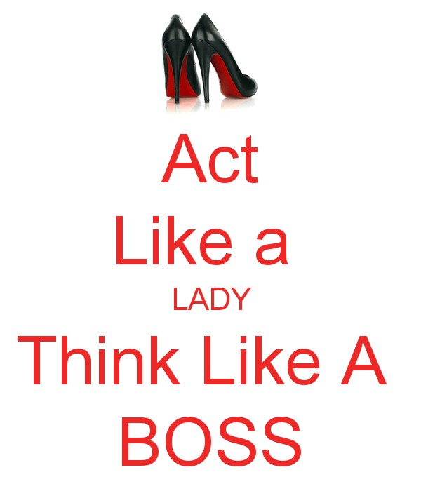 Think Like A Boss Quote 3 Picture Quote #1