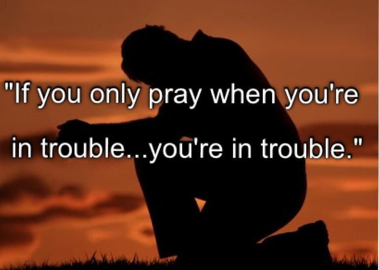 Trouble Quote 1 Picture Quote #1
