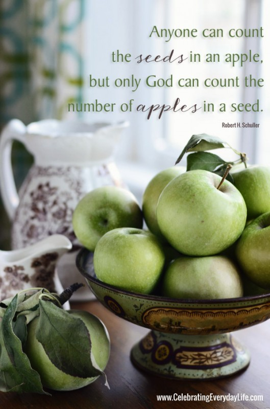 Apple Fruit Quote 1 Picture Quote #1
