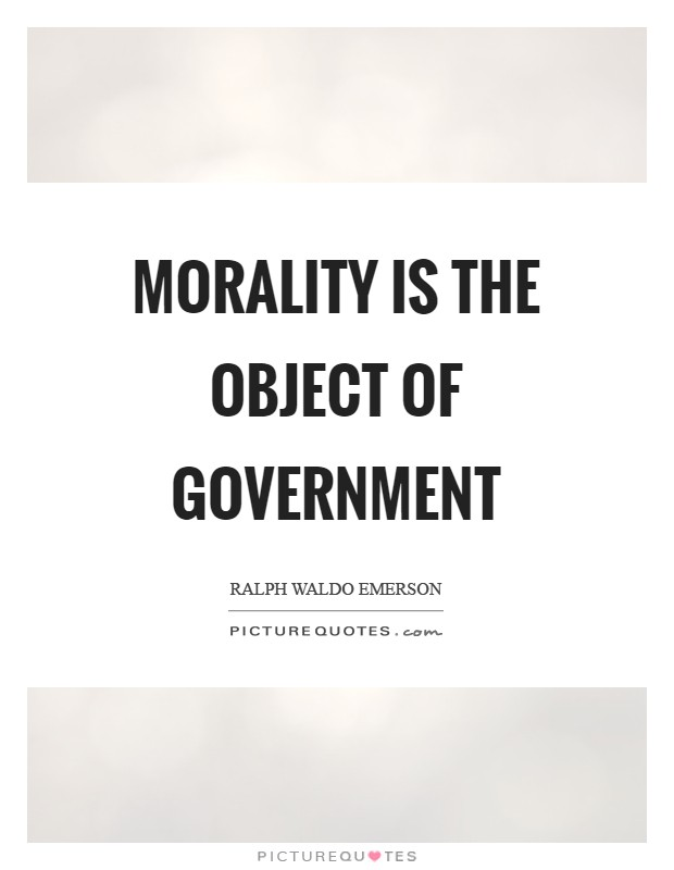 a discussion on morality and government Scenarios and discussion questions introduction this section includes 28 various scenarios a brief discussion follows each these vary in format and those towards the end are written more in the style of exam.