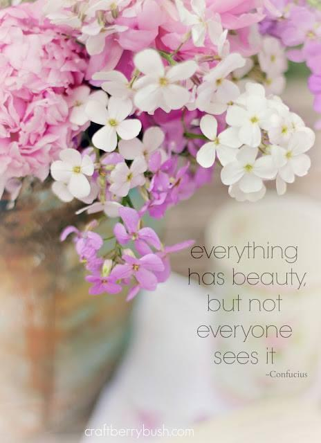 Everything has beauty, but not everyone sees it Picture Quote #1