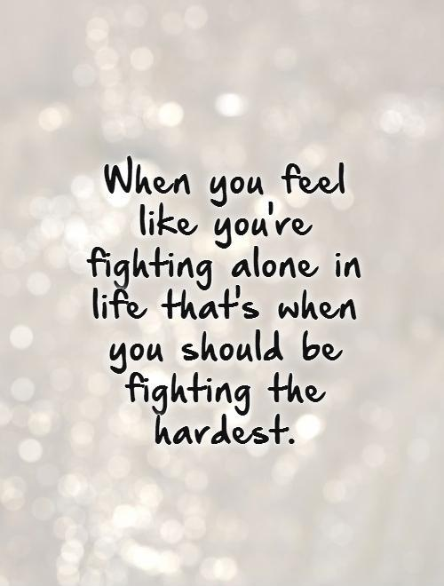 Feeling Alone Quotes | Feeling Alone Sayings | Feeling ...