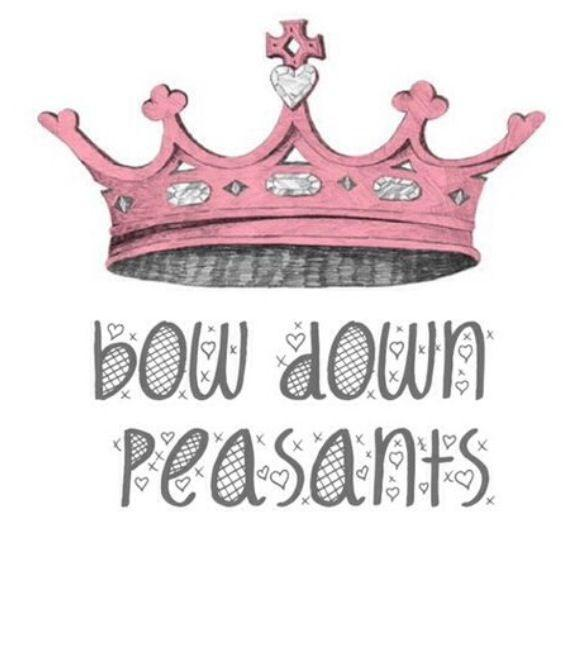 Bow down peasants Picture Quote #1