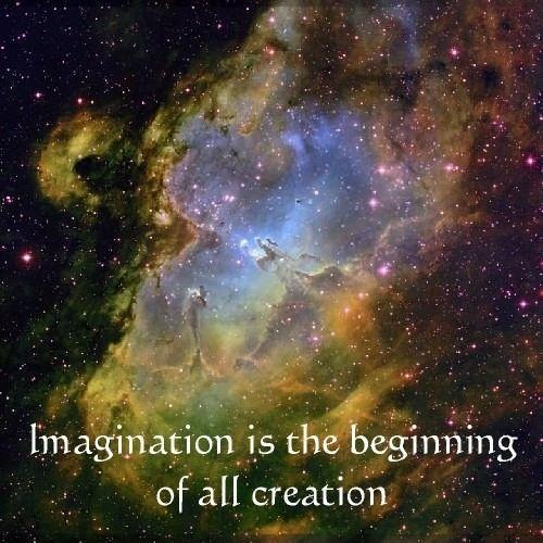 Imagination is the beginning of all creation Picture Quote #1