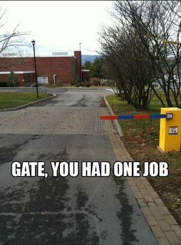 You had one job Picture Quote #3