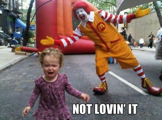 Not lovin' it Picture Quote #1