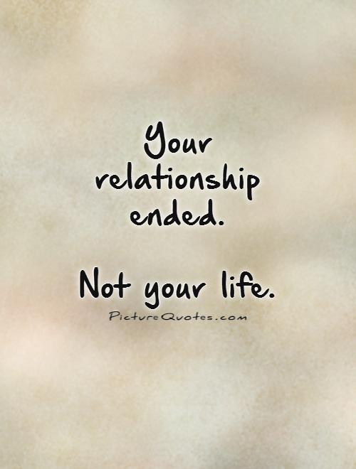 Break Up Friendship Quotes And Sayings : Positive break up quotes sayings