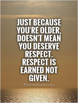 Real Men Treat Women With Respect Quotes Respect