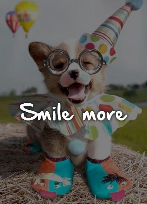 Smile more Picture Quote #1