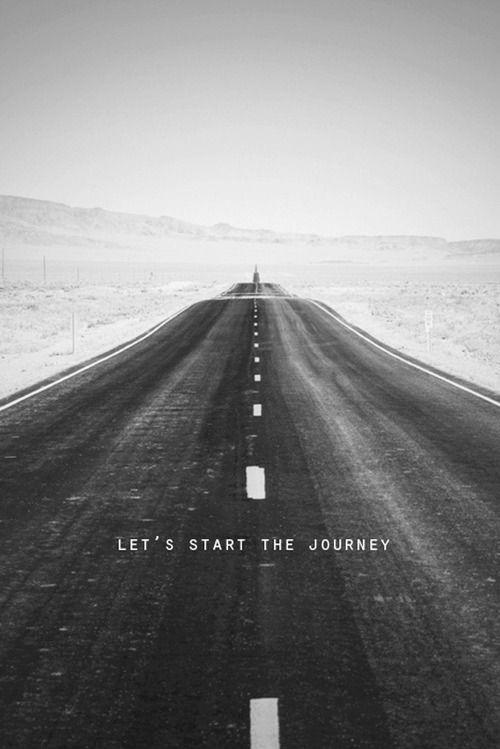 Let's start the journey  Picture Quote #1