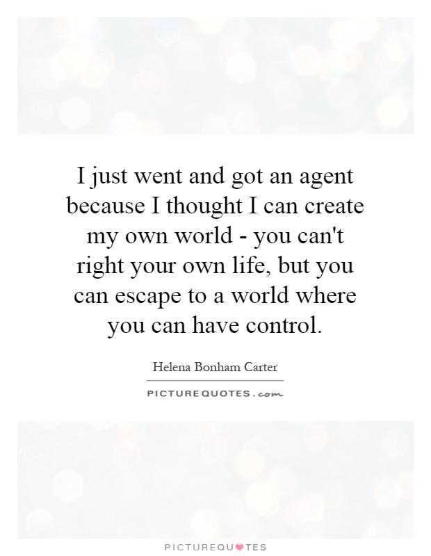 create my own
