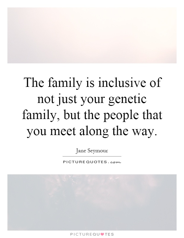 family of six people you meet