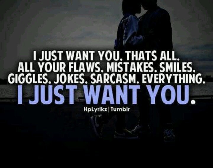 All I Want Is You Quote 3 Picture Quote #1