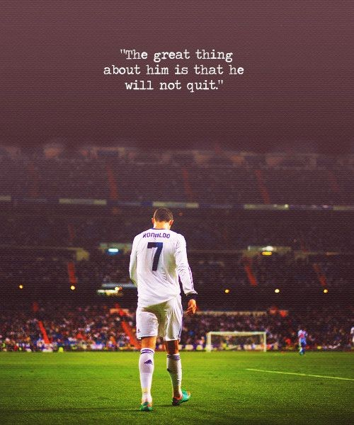 Motivational Soccer Quote 4 Picture Quote #1