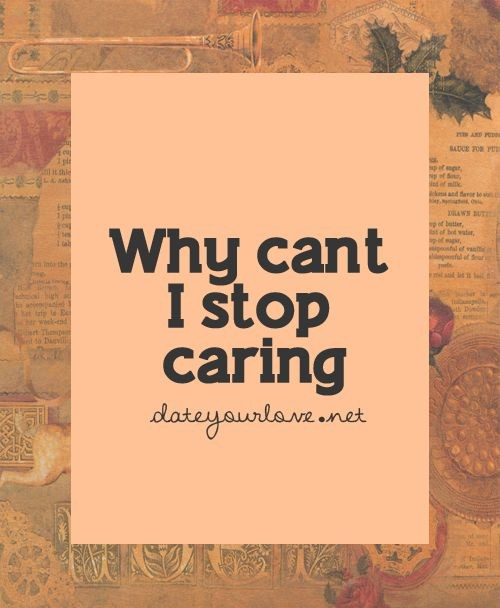 Stop Caring Quote 3 Picture Quote #1