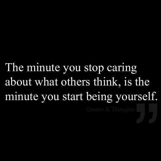Stop Caring Quote 5 Picture Quote #1