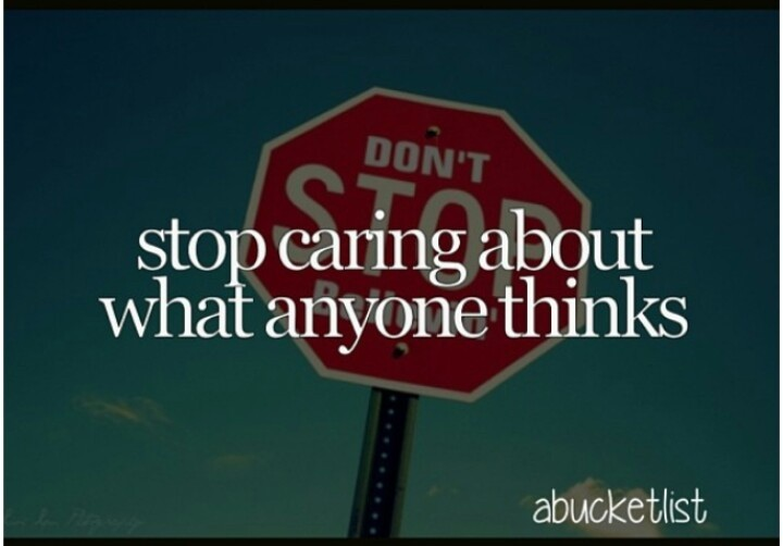 Stop Caring Quote 7 Picture Quote #1