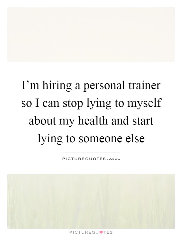 im dating a personal trainer I m dating a personal trainer i'm dating a personal trainermy last relationship was with i can personal trainers date their clients m dating a personal trainer.