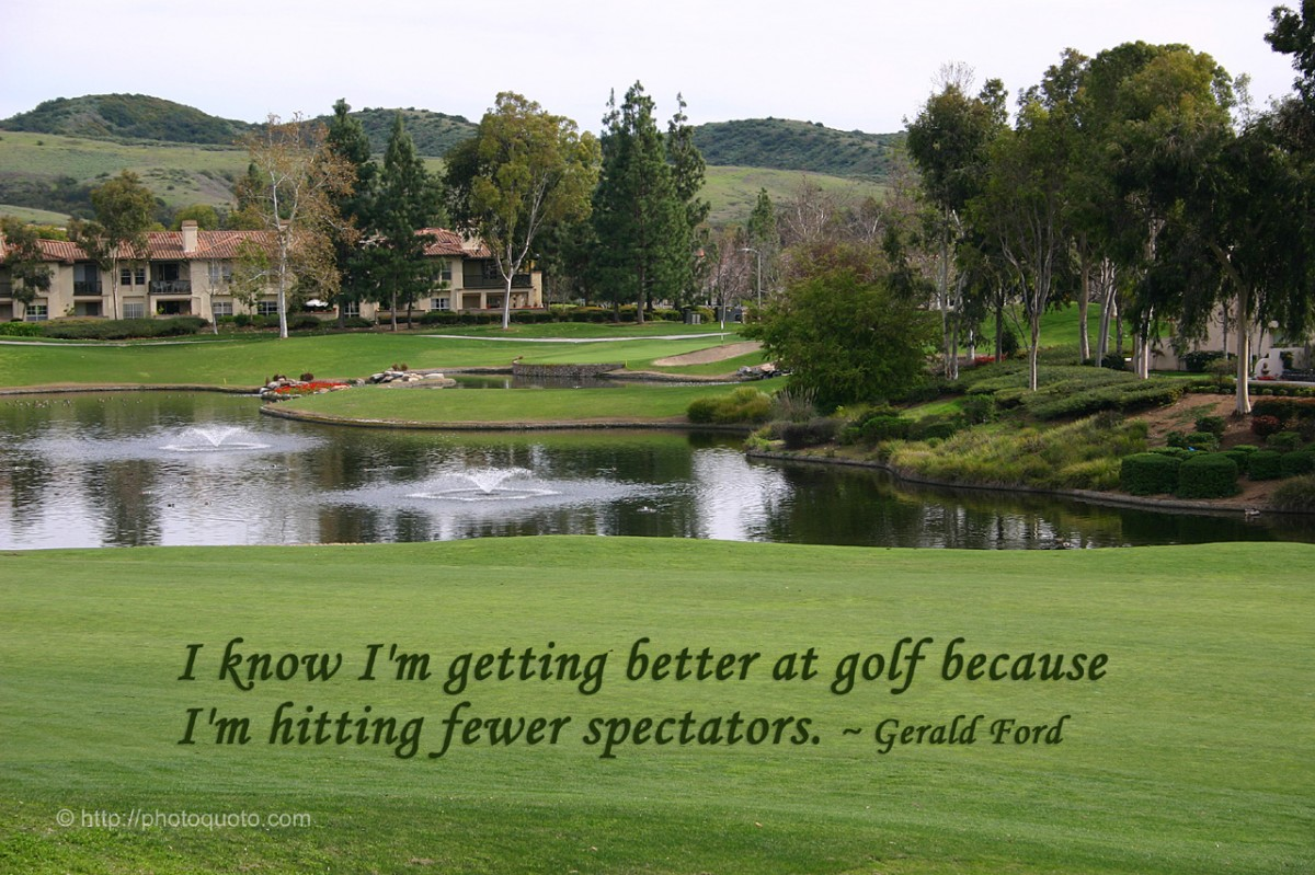Famous Golf Quote 9 Picture Quote #1