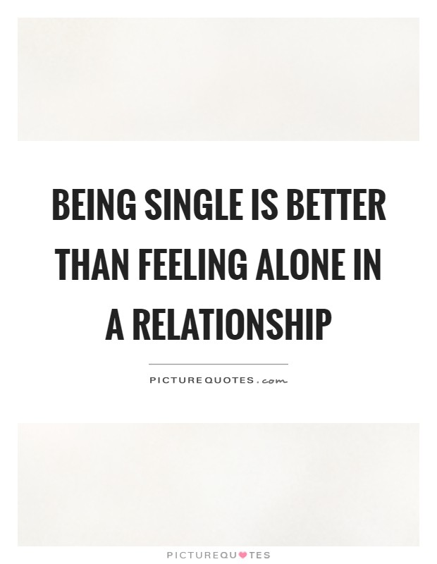 being in a relationship and feeling alone crowd