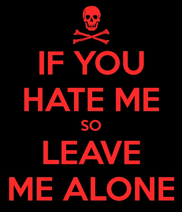 I Dont Care If You Hate Me Quote 1 Picture Quote #1