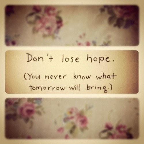 Dont Lose Hope Quote 2 Picture Quote #1