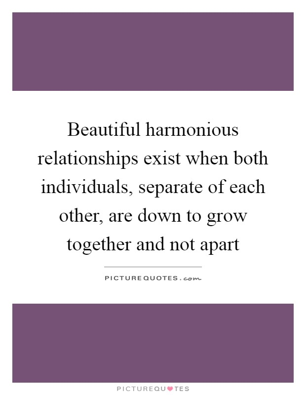 quotes about harmonious relationship in the family