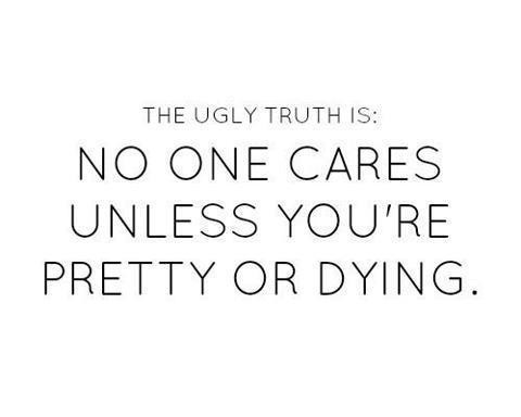 No One Cares Quote 4 Picture Quote #1