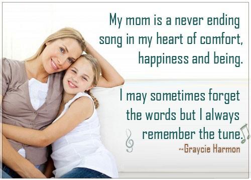 Cute Mom Quote 2 Picture Quote #1