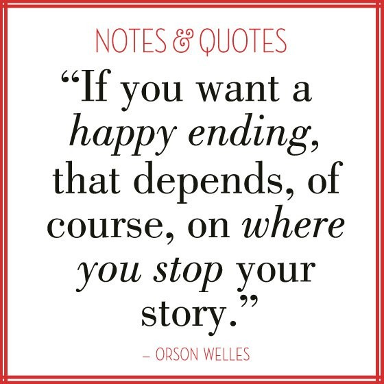 Happy Ending Quote 1 Picture Quote #1