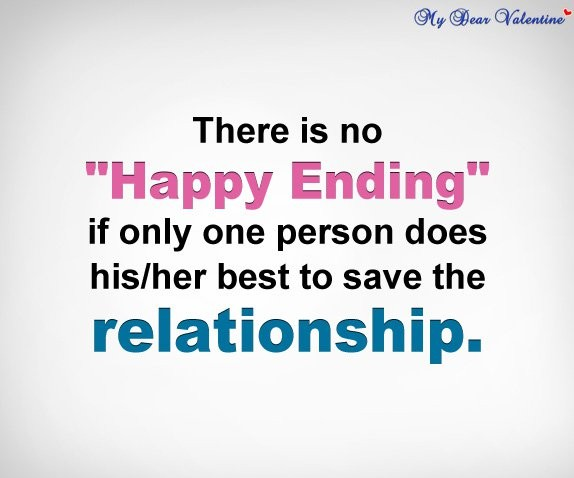 No Happy Endings Quote 2 Picture Quote #1