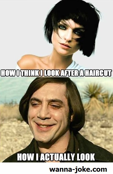 Funny Haircut Quote 4 Picture Quote #1