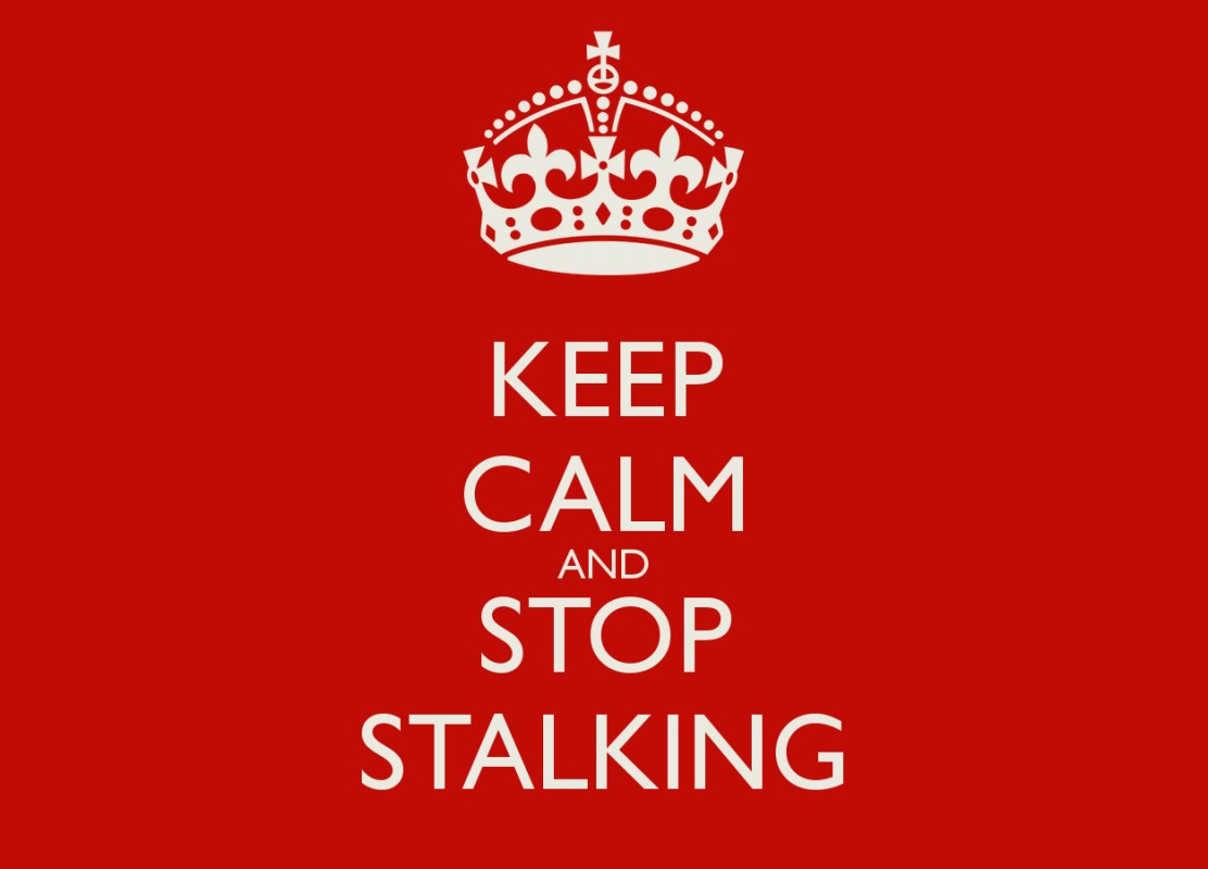 Stalking Quotes Stop Stalking Quote  Quote Number 705677  Picture Quotes