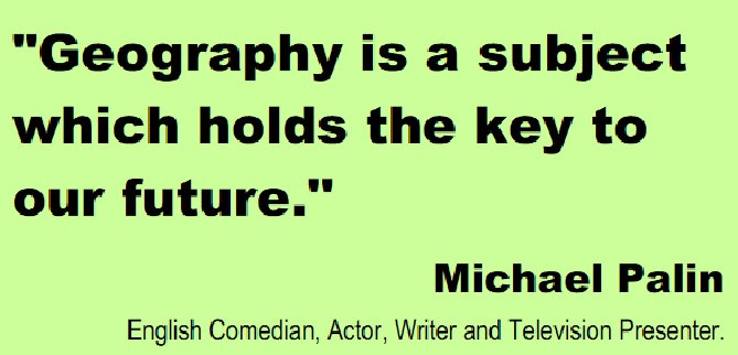 Geography Quote 1 Picture Quote #1